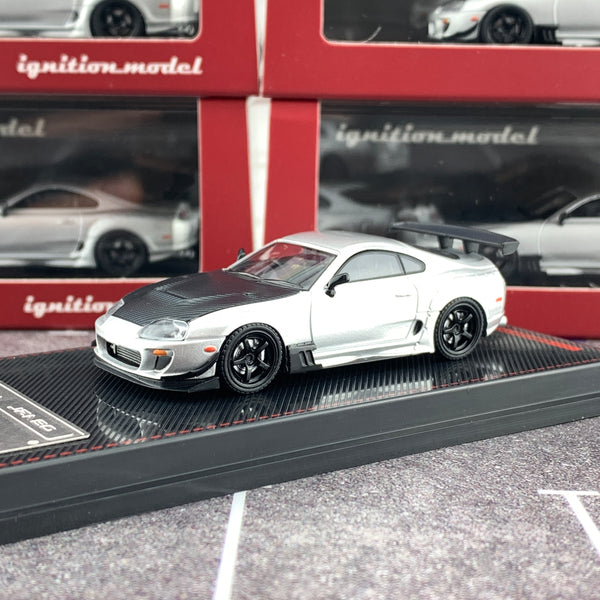 Ignition Model 1/64 Toyota Supra (JZA80) RZ Silver IG1861