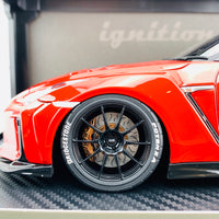 Ignition Model 1/18 TOP SECRET Nissan GTR R35 Red IG1536