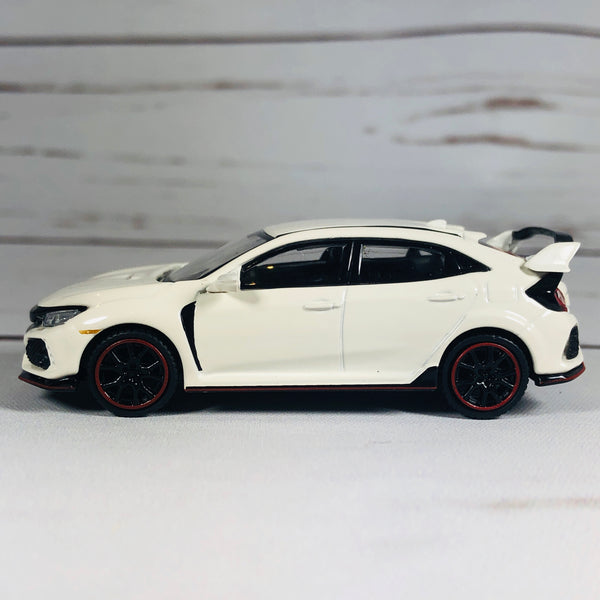 MINI GT 1/64 Honda Civic Type R (FK8) Championship White (RHD)