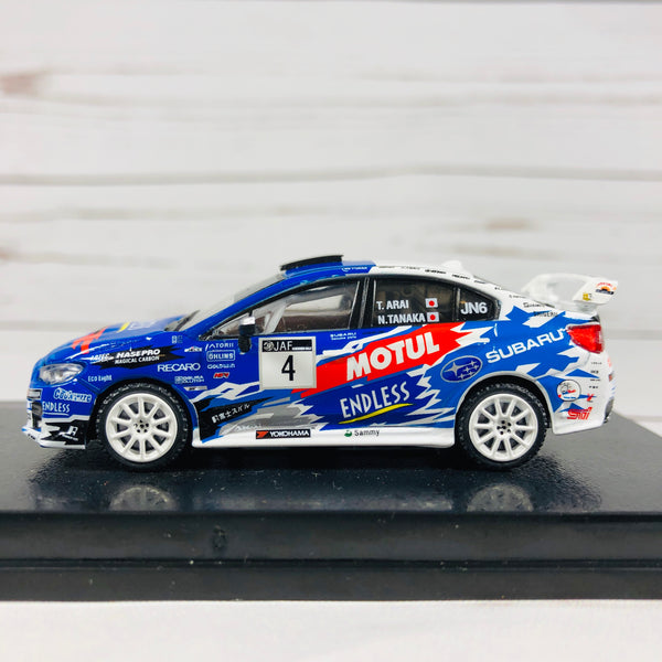 Tarmac Works 1/64 Subaru WRX STI All Japan Rally Championship 2016 #4