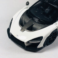 MINI GT McLaren Senna White RHD (Hong Kong Exclusive) MGT00019-R