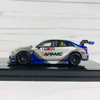 Tarmac Works 1/64 Audi RS3 LMS TCR Asia 2017 - Tarmac Works / Phoenix Racing Asia - SK Tong
