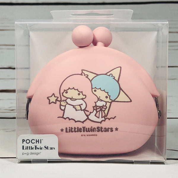 Little Twin Stars Silicone Pouch POCHI