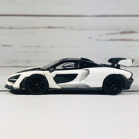 TSM MODEL MINI GT McLaren Senna White RHD (Hong Kong Exclusive)