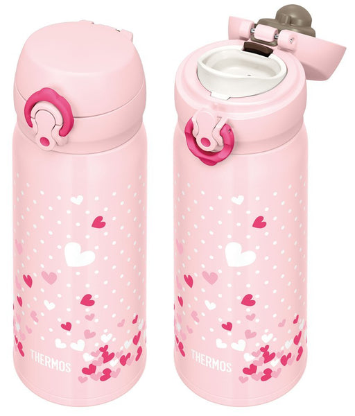 THERMOS Vacuum Insulated Mobile Mug (JNL-403) PHT - Pink Heart (Limited Edition)