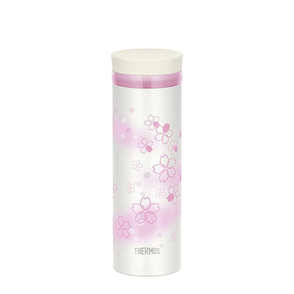 "THERMOS ""SAKURA"" Limited Edition Vacuum Insulated Beverage Bottle 350ml JNY-351 Made in Japan"