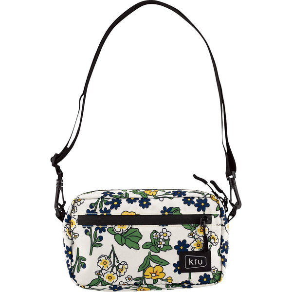 KiU Waterproof Mini Shoulder Bag - Flora Off White K68-050