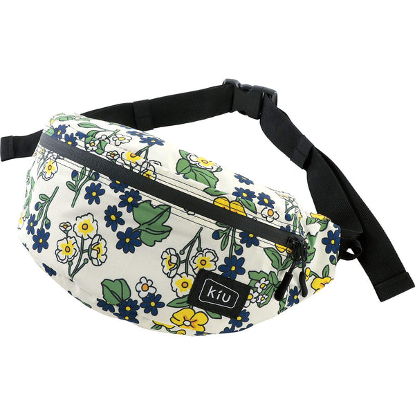 KiU Waterproof Body Bag - Foral Off White K84-050
