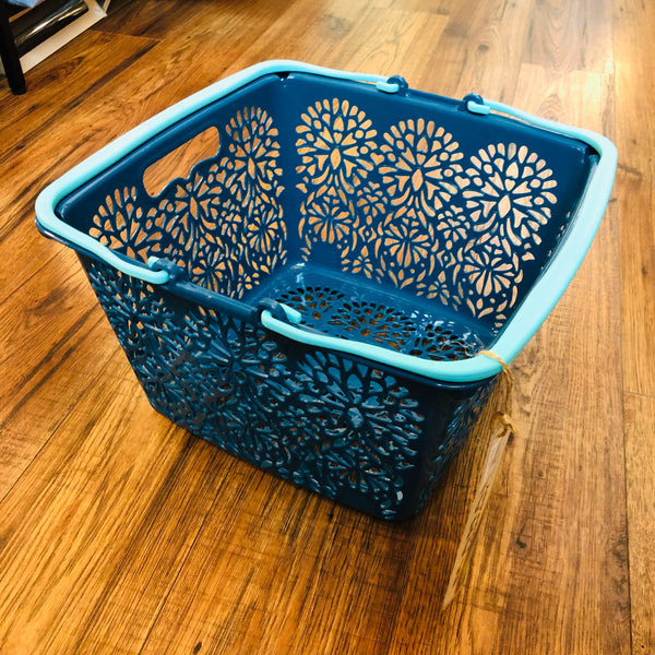 MAHAL COMPANY Japan Basket Small Blue