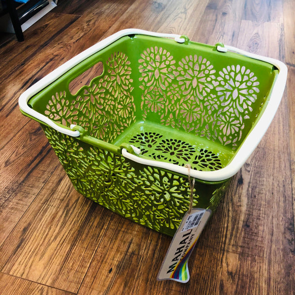 MAHAL COMPANY Japan Basket Small Green