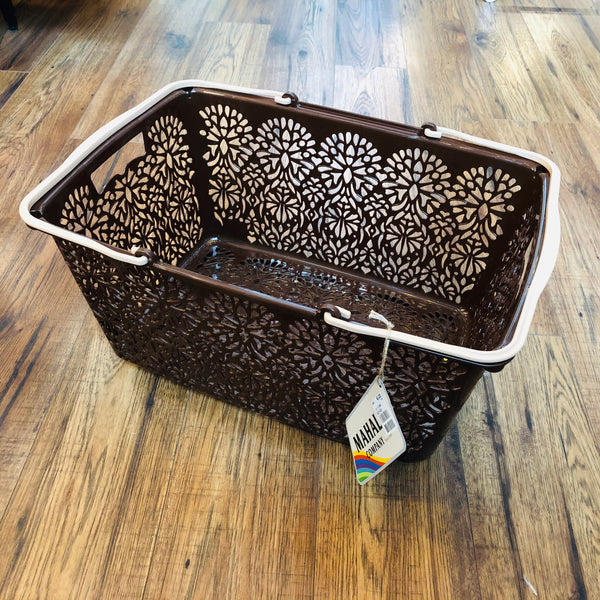 MAHAL COMPANY Japan Basket Large Brown
