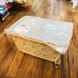 MAHAL COMPANY Japan Basket Large Beige