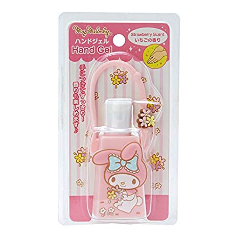 My Melody Hand Gel with Carrying Case (Strawberry Scent)