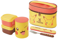 SKATER Stainless Steel Thermal Lunch Box Set Pikachu KCLJC6