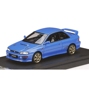 MARK43 1/43 Subaru Impreza WRX type RSTi Version 1997 (GC8) Sonic Blue Mica / Sports Wheel