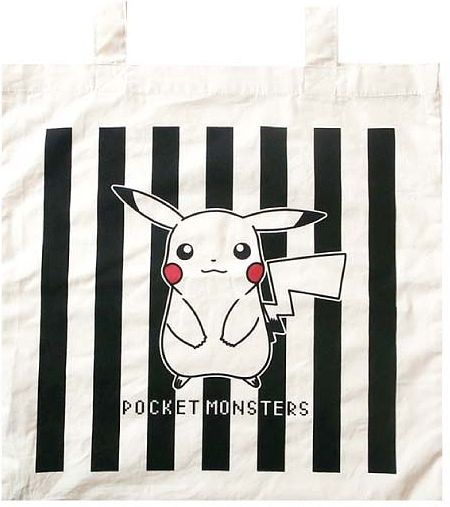 Pikachu Cotton Tote Bag ECPM727