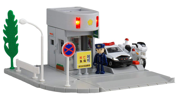 TOMICA Town City Scene Police Station