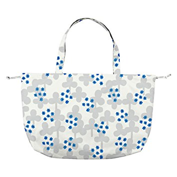 w.p.c Charm Ribbon Tote / Rain Bag in clover white