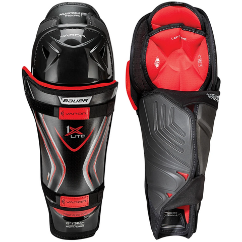 Bauer Vapor 1X Lite Shin Guards - JUNIOR