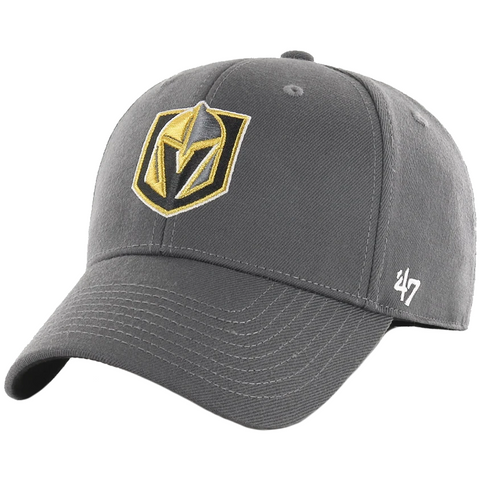 47 Brand Vegas Golden Knights Grey Contender Stretch Fit Hat