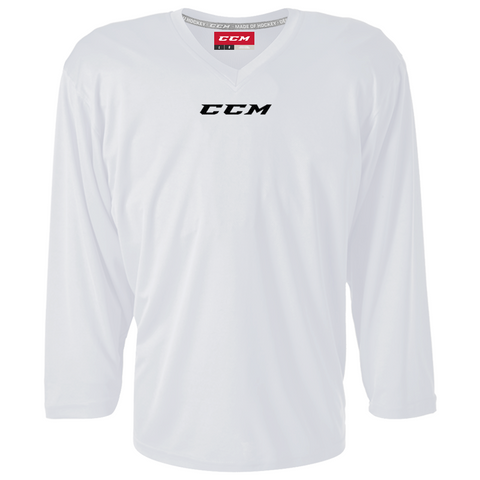 CCM 5000 White Practice Jersey