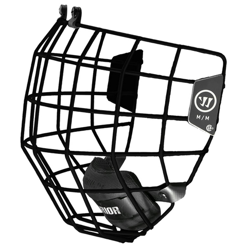 Warrior Alpha One Black Helmet Cage