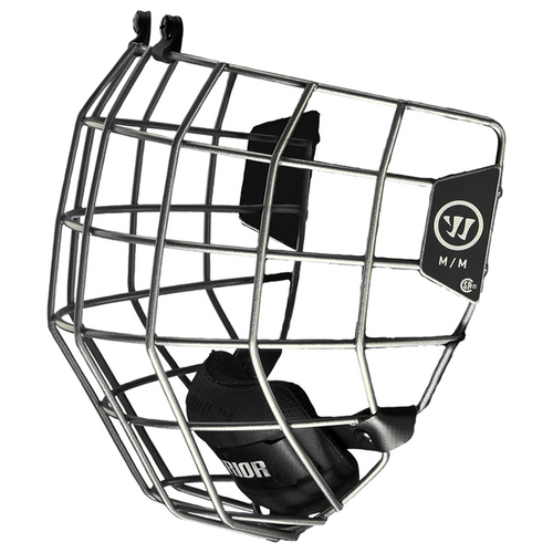 Warrior Alpha One Silver Helmet Cage
