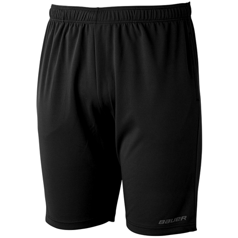 Bauer Core Black Athletic Shorts - ADULT