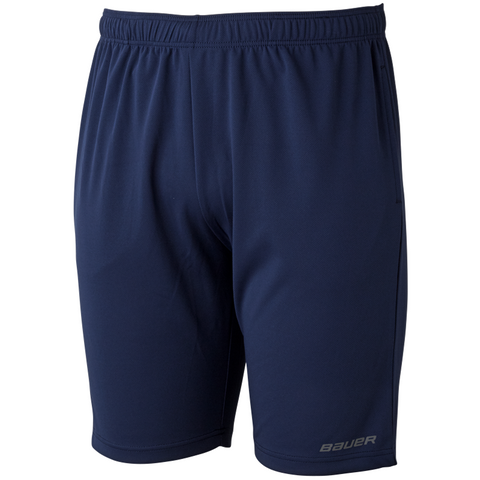 Bauer Core Navy Athletic Shorts - ADULT