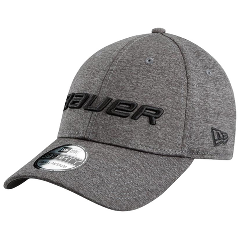 Bauer New Era 39Thirty Charcoal Hat