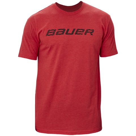 Bauer Graphic Crew Red Tee