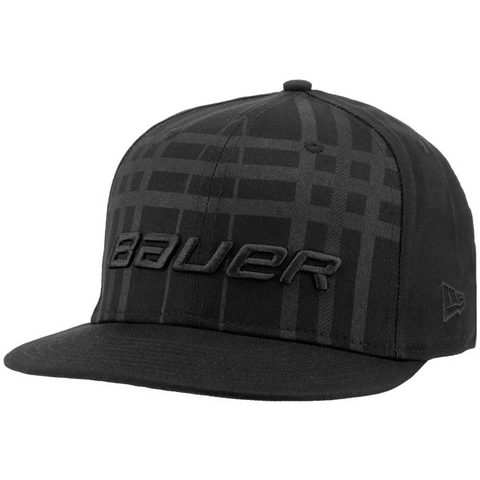 Bauer New Era 9Fifty Snapback Plaid Hat