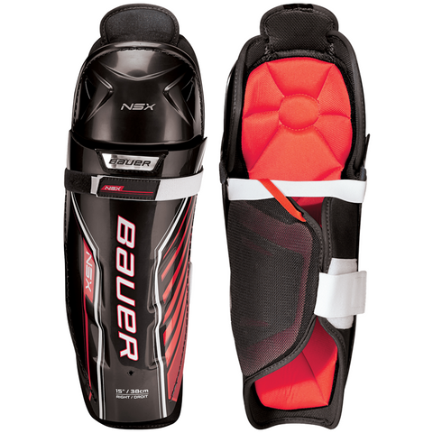 Bauer NSX Shin Guards - JUNIOR