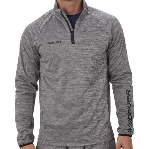 Bauer Vapor Fleece Grey 1/4 Zip