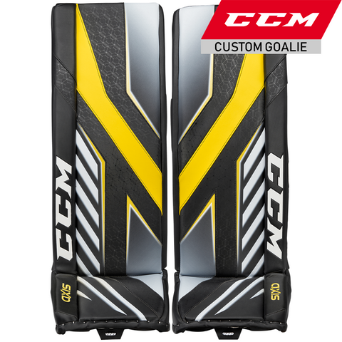 CCM Axis Goalie Leg Pads - CUSTOM