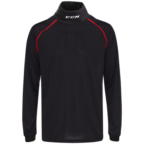 CCM Integrated Neck Compression Long Sleeve - SENIOR