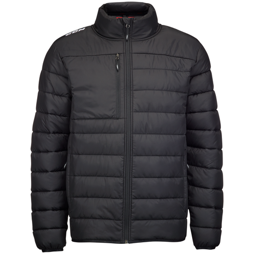 CCM Quilted Black Winter Jacket