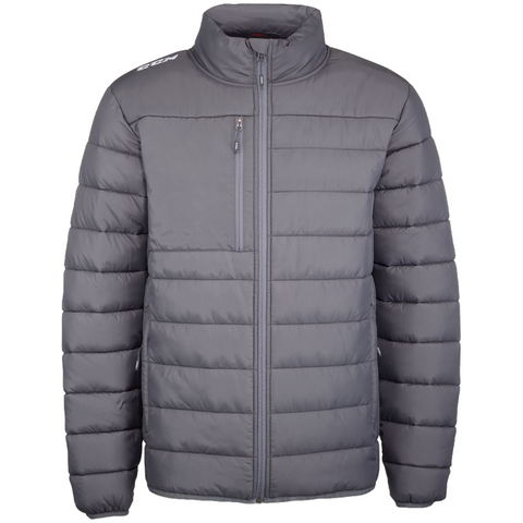 CCM Quilted Grey Winter Jacket
