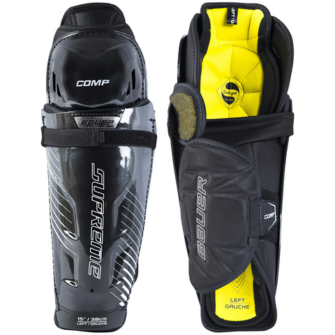 Bauer Supreme Comp Shin Guards - JUNIOR