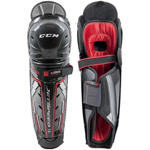 CCM JetSpeed Control Shin Guards - JUNIOR