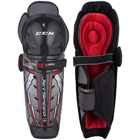 CCM JetSpeed FT370 Shin Guards - SENIOR