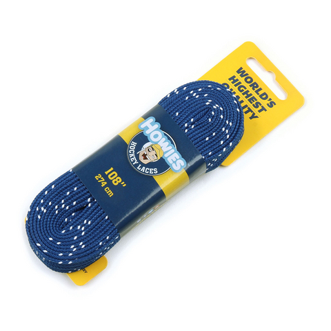 Howies Hockey Blue Skate Laces