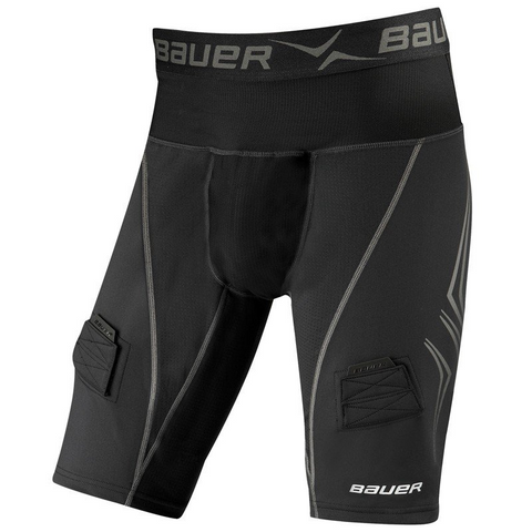 Bauer NG Premium Lockjock Compression Jock Short - SENIOR