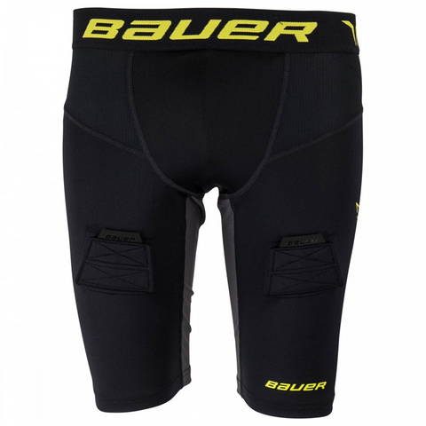 Bauer S17 Premium Compression Jock Short - SENIOR