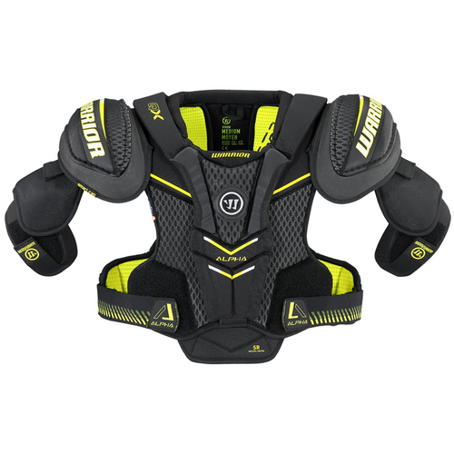 Warrior Alpha QX Shoulder Pads - SENIOR