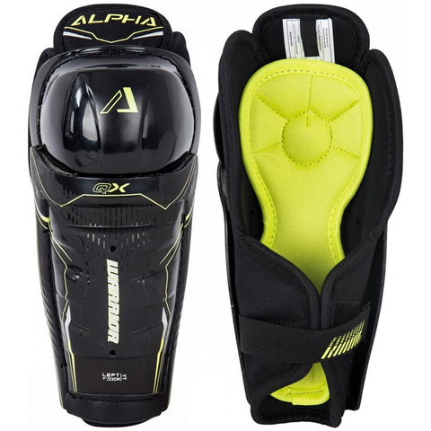 Warrior Alpha QX Shin Guards - YOUTH