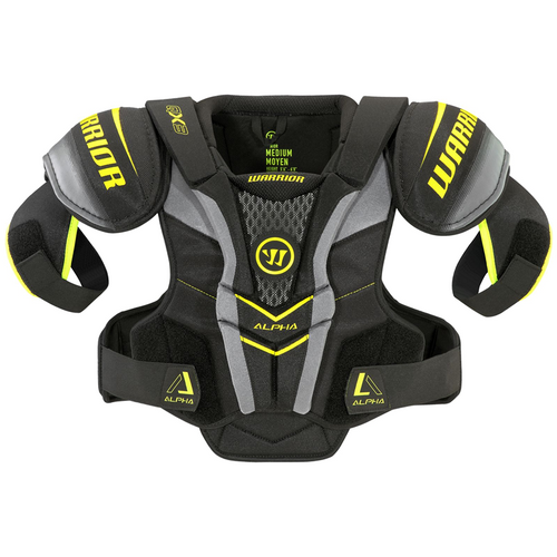 Warrior Alpha QX3 Shoulder Pads - SENIOR