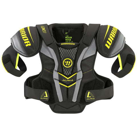 Warrior Alpha QX3 Shoulder Pads - JUNIOR