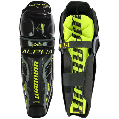 Warrior Alpha QX3 Shin Guards - SENIOR