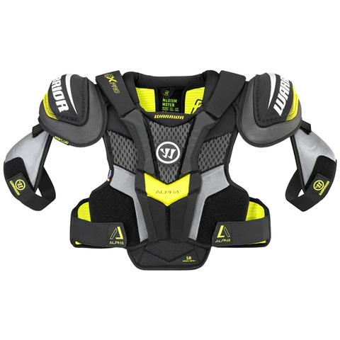 Warrior Alpha QX Pro Shoulder Pads - SENIOR
